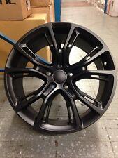 "4  2012 JEEP SRT8 20x10 Matte Black Wheels OE Replica 20"" Spider Monkey"