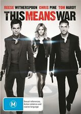 This Means War NEW R4 DVD