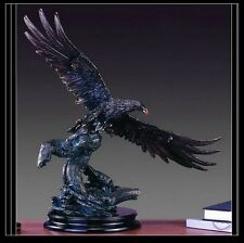 Large Eagle 27 x 24  Beautiful Bronze Statue / Sculpture Brand New