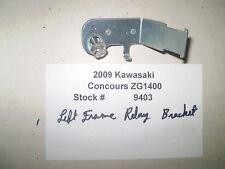 2009 09 Kawasaki Concours ZG1400 Left Frame Relay Bracket