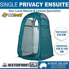 OZtrail Pop up Single Ensuite Tent Camping Portable Change Shower Toilet Privacy