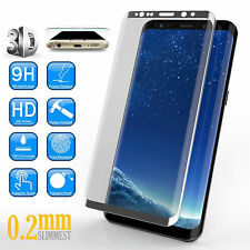 3d 0.2mm 9h Ultra Duro idrogenato HD + blindato Samsung Galaxy s8 Plus * ARGENTO