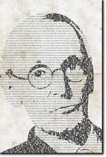 HERMANN HESSE TYPOGRAPHIC POSTER UNIQUE ART PRINT PHOTO GIFT SIDDHARTHA