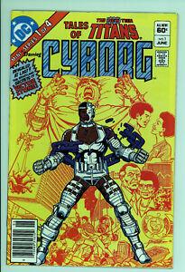 Teen Titans Cyborg 1 - Classic Cover - High Grade 9.4 NM
