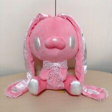"Taito Chax GP Gloomy Bear Rabbit Plush Doll Toreba Lacy Lace Bunny Pink 11"" TAG"