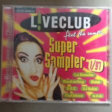 Musik CD  Liveclub ful the music Super Sampler 1/97   La Bouche  DJ Bobo  Dune