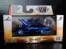 M2 1969 Chevy Camaro Z/28 Super Chase Blue Tires Hobby Exclusive 1/64 Diecast