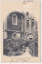 CPA 60700 PONT SAINTE MAXENCE Institution St Joseph Cour d'Honneur Edit BREGER