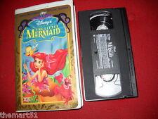 The LITTLE MERMAID (1989) VHS Disney Video 1a Ed. USA & Canada NTSC format THX