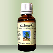 Zirbenöl 30 ml, reines ätherisches Öl in Premium Qualität d. 2-fach Destillation