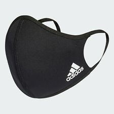 adidas 3 Pack Face Mask Cover Black Size Xs/S Black Men Women Fashion Style