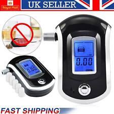 LCD Digital Alcohol alcoholímetro aliento de policía Prueba Probador Analizador detector UK