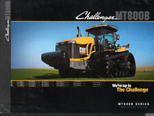 """Challenger """"MT800B Series"""" 350 to 570hp Tracked Tractor Brochure Leaflet"""