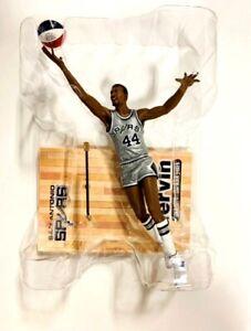McFarlane NBA Legends 4 George Gervin (San Antonio Spurs) Exclusive ABA Silver