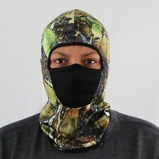 Full Face Mask Hat Neck Cover Balaclava Windproof Green Camo Design