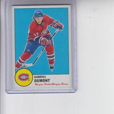 12/13 OPC Montreal Canadiens Gabriel Dumont Retro Rookie card #579