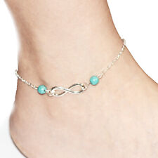 Bohemia Foot Bracelet Summer Beach Silver Ankelts For Women Girl Summer Jewelry