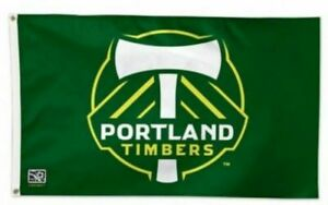 PORTLAND TIMBERS FLAG 3'X5' NEW 3X5 BANNER FAST FREE SHIPPING