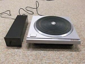 Technics SP-10MKII Turntable w/power supply (120 volt AC US version)