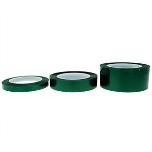 Green Polyester Tape 66m, High Temp Masking Tape, Powder Coating, Adhesive