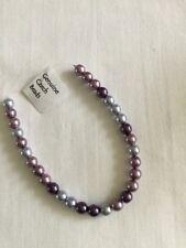 Czech Glass Pearls 6mm X30 Purple Mix