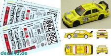 1/43 Décalque MERCEDES-BENZ 190 E 2.5-16 EVOLUTION II ZAKSPEED Racing droife 1995