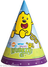WOW WOW WUBBZY CONE HATS (8) ~ Birthday Party Supplies Paper Favors Nickelodeon