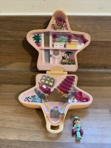 1992 VINTAGE POLLY POCKET HOLLYWOOD HOTEL POLLYVILLE PLAYSET RARE