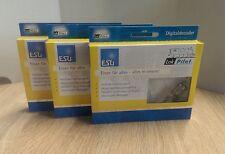 3x ESU 54610 LokPilot H0 V4 MOT/DCC/SX RailCom Kabel +8pol. Stecker *NEU & OVP*