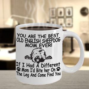 Old English Sheepdog,Shepherd,Old English Sheepdog Dog,OES,Cup,Coffee Mugs