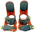 Drake Leblanc Mens Orange and Black Snowboarding Bindings Size Large