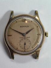 Vintage Benrus Manual Wind Gold Filled Wristwatch     ww-65