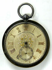 John Forrest Very Rare, All Original Admirality Chronometer, London, Silver Case