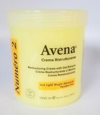 New Avena Numero 2 Restructuring Creme with Oat Extracts 1000 ml / 34.4 Oz.