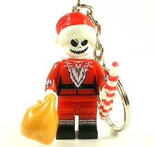 The Nightmare Before Christmas Jack Skellington Mini Figure Keyring Santa UK