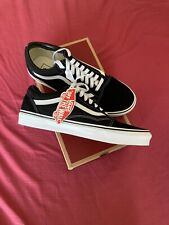 Brand New Vans Old Skool Black Trainers: Size UK 10