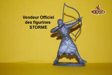 Mokarex - STORME - Feodal - Archer 1  - 54 mm - Figurine Diorama
