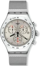 Swatch Irony Quartz Movement Silver  Dial Men's Watch YVS405GB