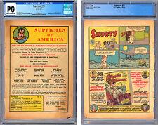 SUPERMAN #18 CGC *PG* 8th PG ONLY *WONDER WOMAN #1 HALF-PG AD* JERRY SIEGEL 1942