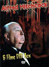 Alfred Hitchcock 6 Filme DVD Box - 39 Stufen - Sabotage - Der Geheimagent ,u.a.