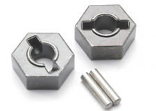 Traxxas 4954R - Steel Hex 14mm Wheel Hubs, 14mm & Pins, Revo/T-Maxx/Summit (2)