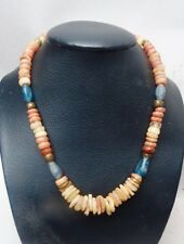 COLLIER PERLES DE FOUILLE MALI EXCAVATION BEADS  (6)