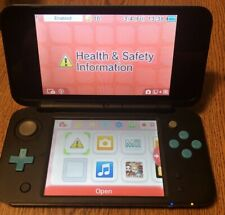Nintendo 2ds XL Handheld Console Black And Blue Very Nice Tested