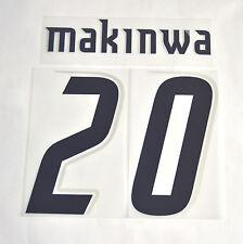 Set UFFICIALE NOME e NUMERO - MAKINWA 20 - LAZIO Maglia Home stagione 2006/07