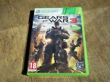 Jeu Microsoft XBOX 360 - gears of war 3 + Stikers - PAL - FR