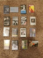 *NEW AND USED* YOU CHOOSE cassette lot(various artists and genres)