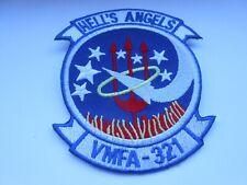 RAF/USAF cloth squadron patch   HELLS ANGELS VMFA 321