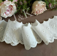 """Unotrim 3/"""" White or  Ivory Venice Lace Trim Upholsery DIY sewing notions By Yard"""