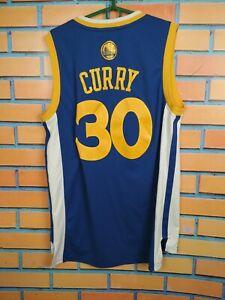Steph Curry Golden State Warriors Jersey MEDIUM Shirt Basketball Mens Adidas