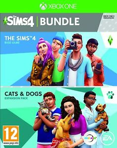 The Sims 4 + Cats & Dogs Bundle (Xbox One)